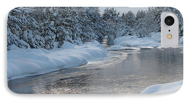 Paddling Up The Snowy River IPhone Case