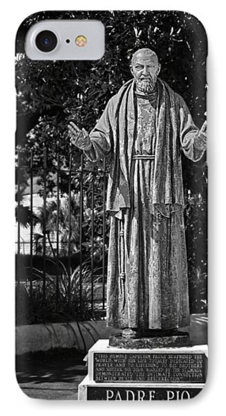 Padre Pio - St Louis Cemetery No3 New Orleans IPhone Case