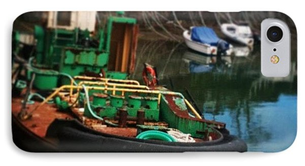 #padstow #boat #oldthings #quirky IPhone Case