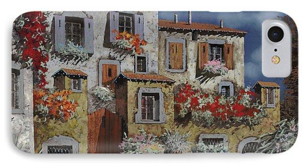 Paesaggio Al Chiar Di Luna Phone Case by Guido Borelli