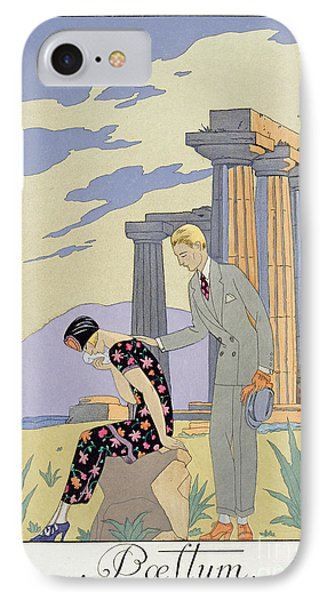 Paestum IPhone Case by Georges Barbier