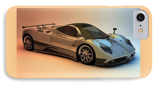 Pagani Zonda F IPhone Case by Louis Ferreira