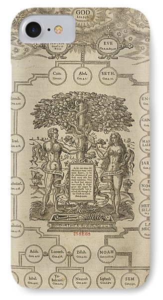 Page Of Biblical Genealogies IPhone Case