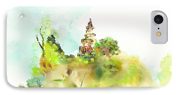Pagoda Phone Case by Len YewHeng