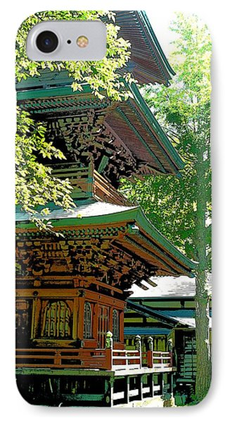Pagoda Side View IPhone Case