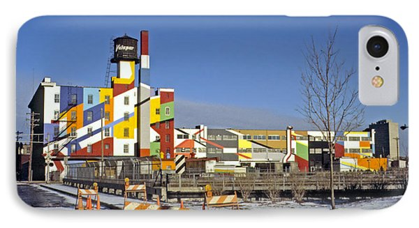 IPhone Case featuring the photograph Paint Factory by Rod Jones