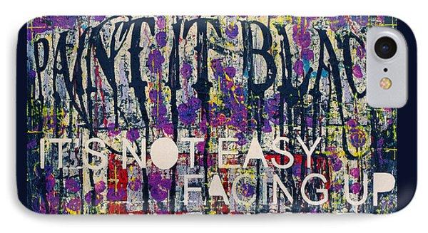 Paint It Black IPhone Case by Frank Van Meurs