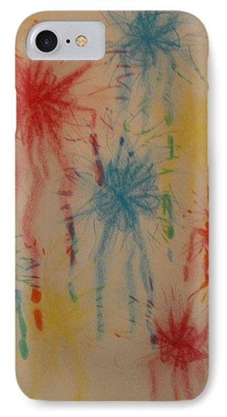 IPhone Case featuring the drawing Paint My Masterpiece by Thomasina Durkay