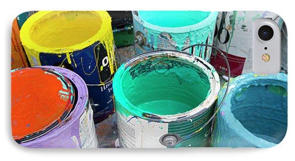 Paint Pots IPhone Case by Jim West