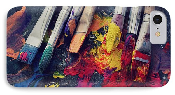 Paintbrushes  Phone Case by Bella  Harris