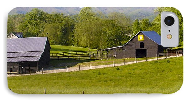 Painted Barn Quilt Two And A Half Phone Case by Robert J Andler