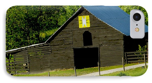 Painted Barn Quilt Two Phone Case by Robert J Andler