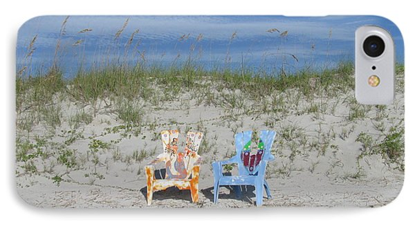 Painted Beach Chairs IPhone Case