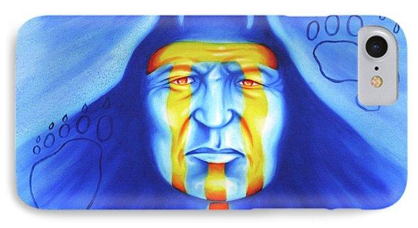 Painted Bear Phone Case by Robert Martinez