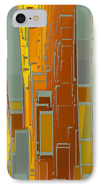 Painted City - Fantasy Cityscape Phone Case by Ben and Raisa Gertsberg