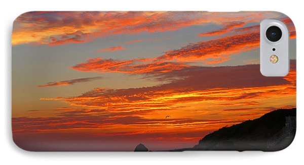 Painted Clouds Sunrise IPhone Case by Dianne Cowen