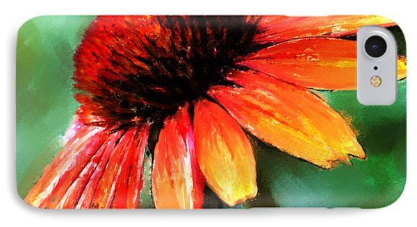 IPhone Case featuring the painting Painted Daisy by Robert Smith
