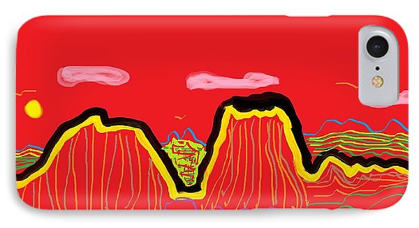 Painted Desert #2 IPhone Case