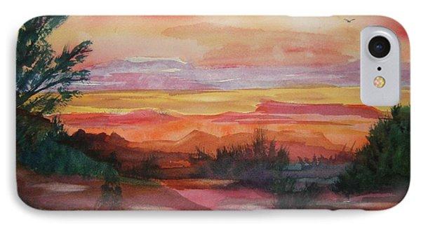 Painted Desert II IPhone Case by Ellen Levinson