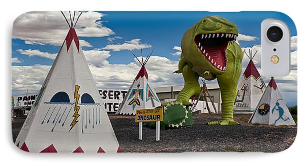 Painted Desert Indian Center  IPhone Case by Gary Warnimont