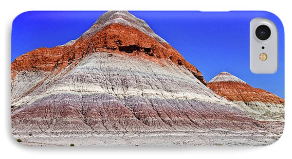IPhone Case featuring the photograph Painted Desert National Park by Bob and Nadine Johnston