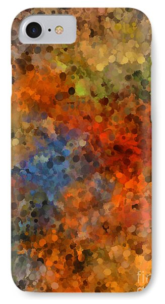Painted Fall Abstract IPhone Case by Andrea Auletta