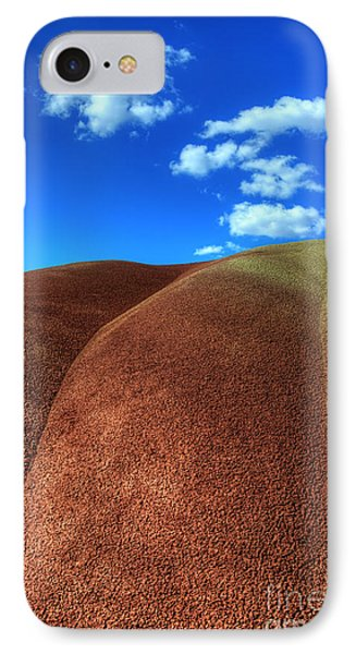 Painted Hills Blue Sky 2 Phone Case by Bob Christopher