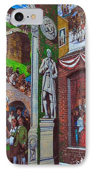 Painted History 1 Phone Case by Joann Vitali