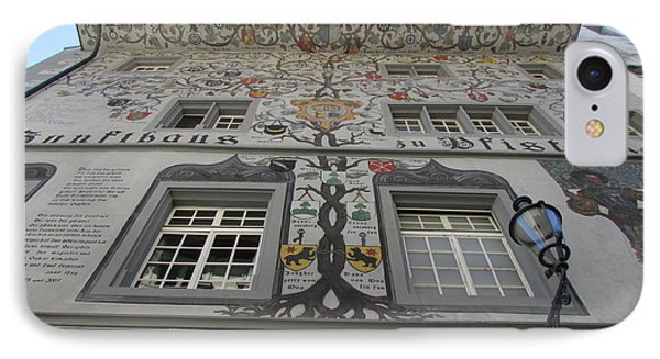 Painted House On The Rathaussteg IPhone Case