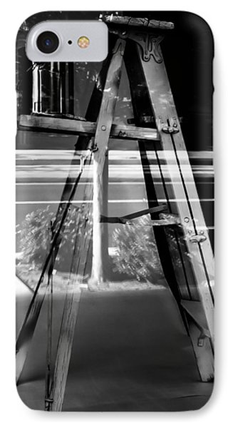IPhone Case featuring the photograph Painted Illusions - Abstract by Steven Milner