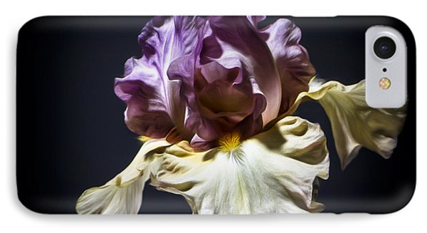 Painted Iris Phone Case by Holly Martin