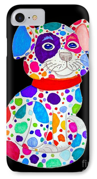 Painted Pooch 2 Phone Case by Nick Gustafson