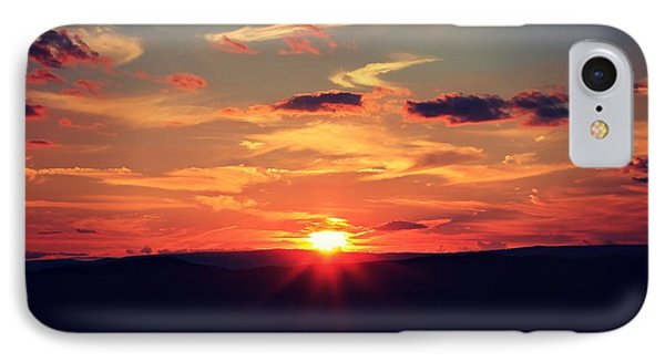 IPhone Case featuring the photograph Painted Skies by Candice Trimble