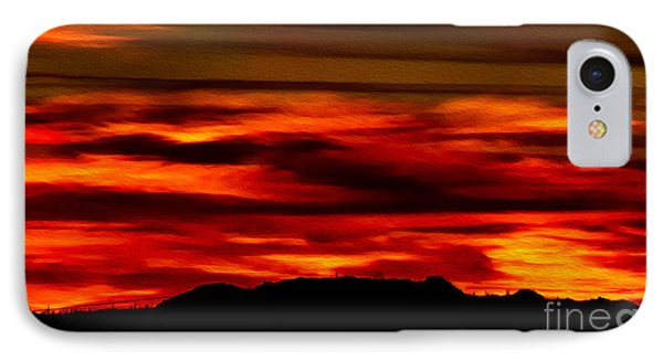 IPhone Case featuring the photograph Painted Sky 34 by Mark Myhaver