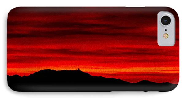 IPhone Case featuring the photograph Painted Sky 36 by Mark Myhaver