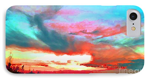 IPhone Case featuring the photograph Painted Sky by Holly Martinson