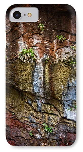 Painted Walls Of Oak Creek No. 1 IPhone Case