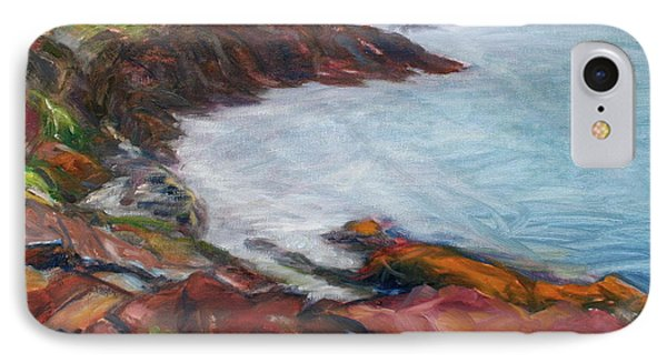 Painterly - Bold Seascape Phone Case by Quin Sweetman