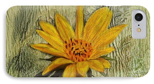 Painterly Sunflower IPhone Case by Sandi OReilly