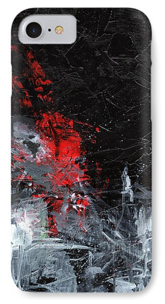 Painting Death IPhone Case by Sean Seal