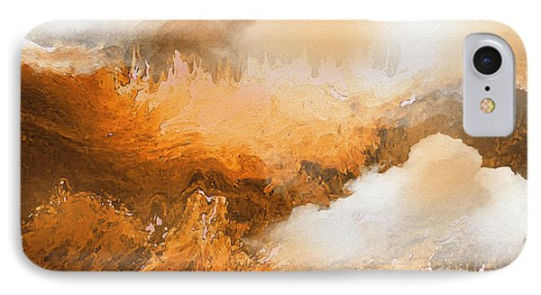 Storm Over The Mountains IPhone Case by Sherri's Of Palm Springs