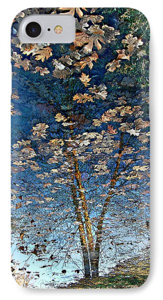 Painting In A Puddle IPhone Case by Ellen Tully