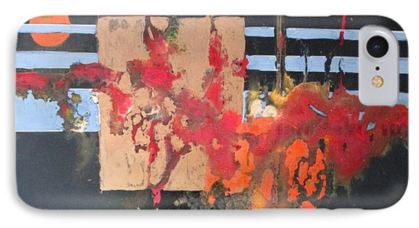 Painting Is Poetry Which Is Seen And Not Heartd Phone Case by Patricia Mayhew Hamm
