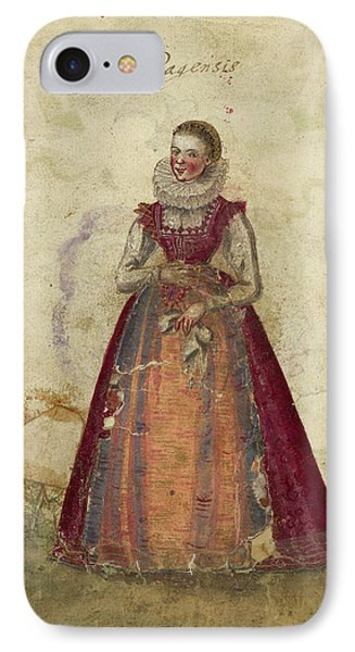 Painting Of A Woman IPhone Case