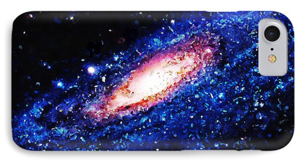 Painting Of Galaxy IPhone Case