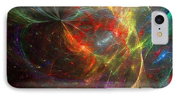 Painting The Heavens  IPhone Case by Margie Chapman