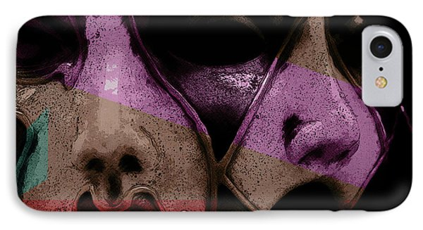 IPhone Case featuring the digital art Pair by Galen Valle