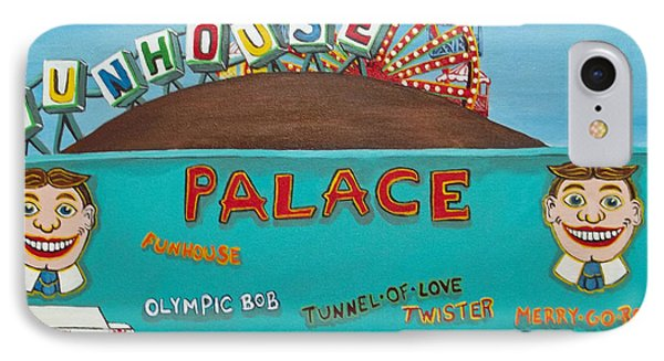 Palace Amusements II IPhone Case by Norma Tolliver