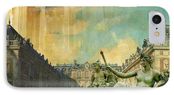 Palace And Park Of Versailles Unesco World Heritage Site Phone Case by Catf