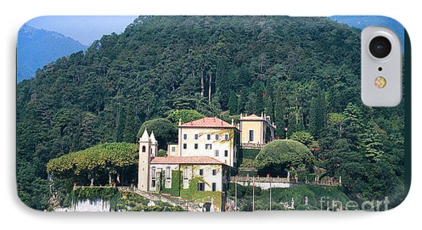IPhone Case featuring the photograph Palace At Lake Como Italy by Greta Corens